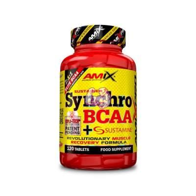 SYNCHRO BCAA + SUSTAMINE® 120 TABLETS