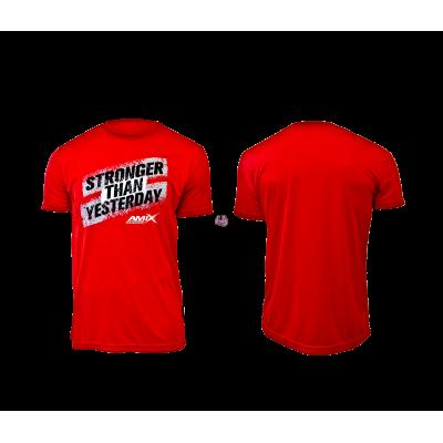 Camiseta Amix Stronger Rojo