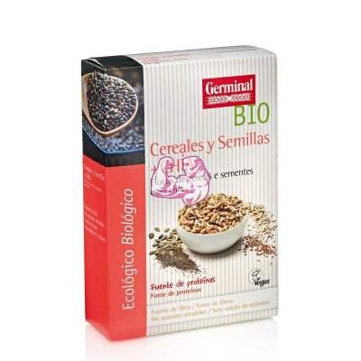 Copos de cereales y semillas con chía 250gr