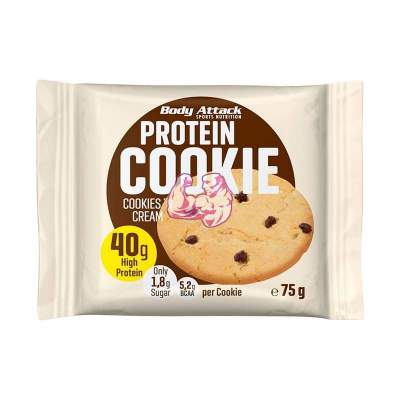 Protein Cookie 75r Cookies & Cream