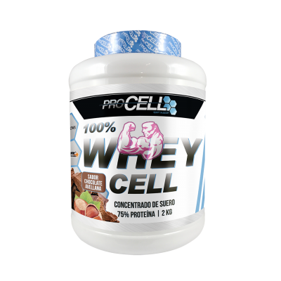 WHEY PROTEIN 100% PROCELL 2KG