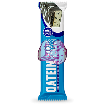 OATEIN LOW SUGAR PROTEIN BAR 60G COOKIES & CREAM