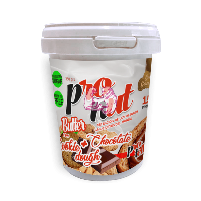 PRONUT BUTTER + PROTELLA & COOKIE DOUGH 350gr