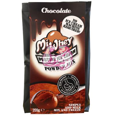 Helado proteico de chocolate – MiWhey