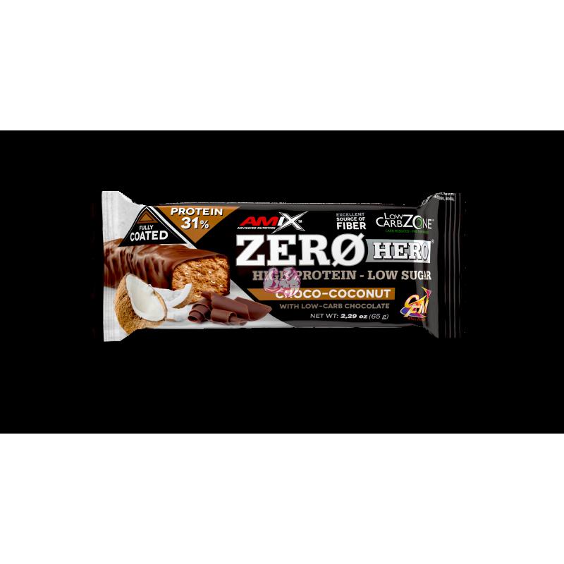 AmixTM Zero Hero 31% Protein Bar 65Gr.