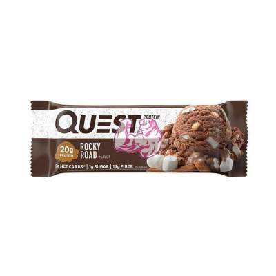 QUEST BAR PROTEIN SABOR ROCKY ROAD 60 G