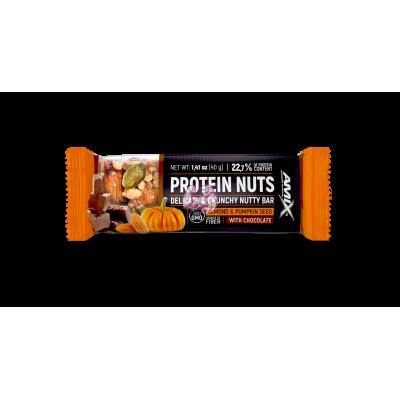 Protein Nuts bar 40Gr Amix