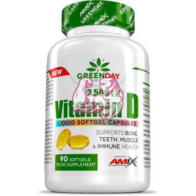 Amix GreenDay Vitamina D 2500 I.U 90 caps