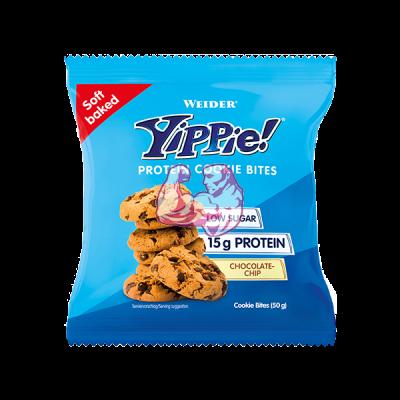 Weider Yippie! Cookie Protein Bites 1 bolsa x 50 gr