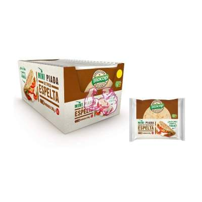 Mini piada de trigo espelta Biocop 100 g