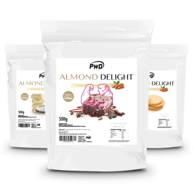 ALMOND DELIGHT 500gr ( Neutra y Sabores )