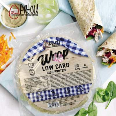 Wrap Low Carb ( crepe proteicos )