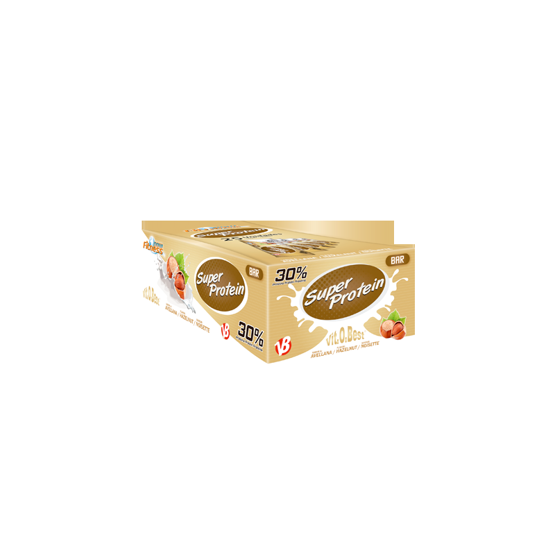 Super Protein Bar 30% Proteina Avellana