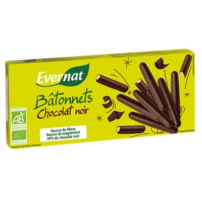 Palitos de pan integral con chocolate negro ecologicos ( 150grs )