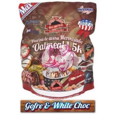 Harina de Avena sabor Gofre & White Choc 1.5 Kg