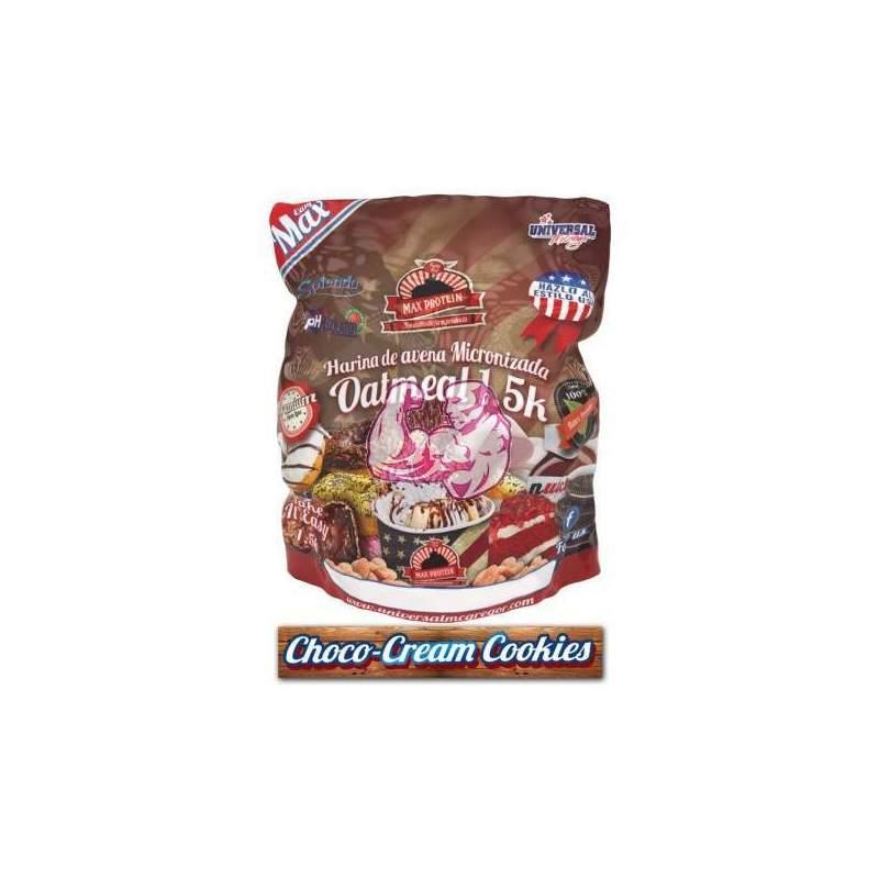 Harina de Avena sabor Choco-Cream Cookies 1.5 Kg