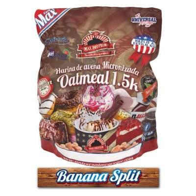 Harina de Avena sabor Banana Split 1.5 Kg