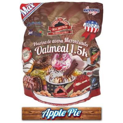 Harina de Avena sabor Apple Pie 1.5 Kg