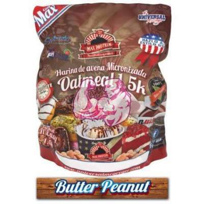 Harina de Avena sabor Butter Peanut 1.5 Kg