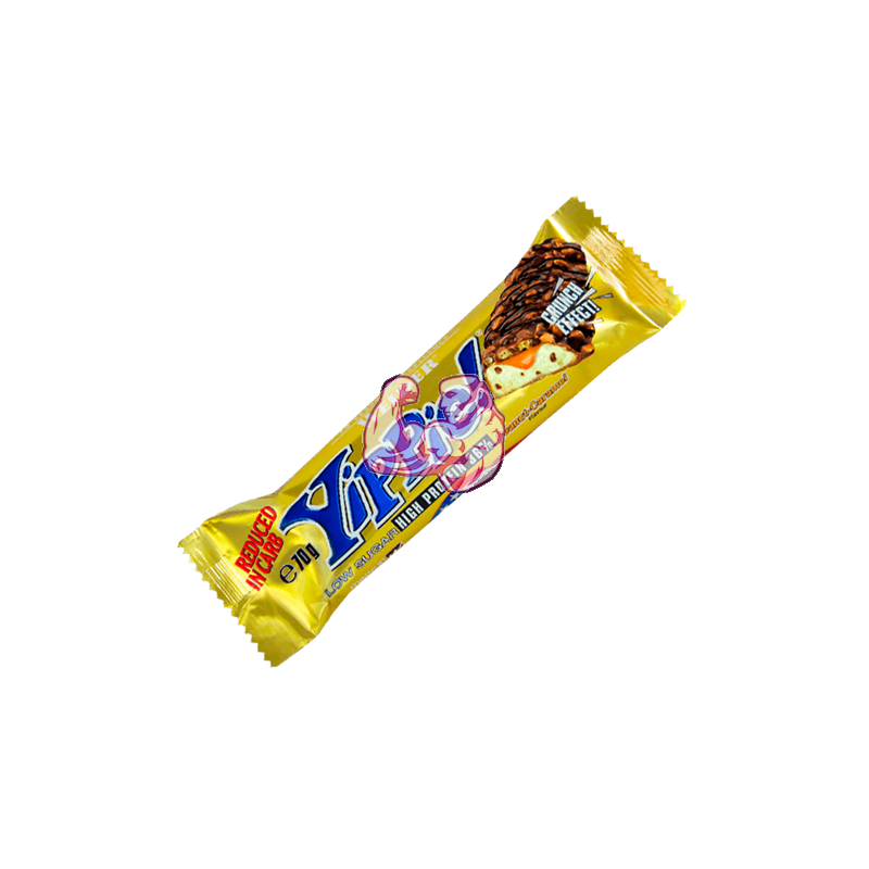YIPPIE! BAR ( 70 gr ) Cacahuete - Caramelo