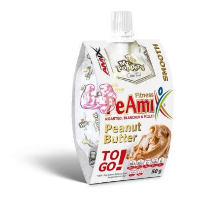PeAmix® Sr. Popper's® PeAmix® - Fitness Peanut Butter 50gr