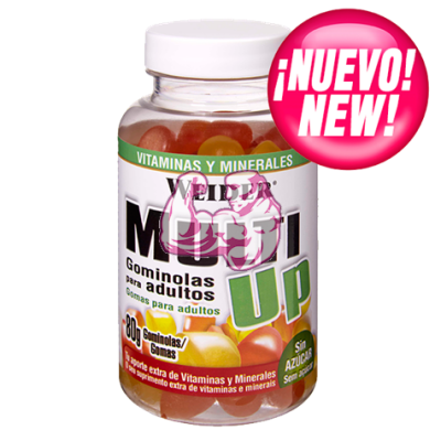 MULTI UP Vitaminas & Minerales masticables
