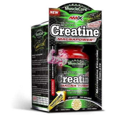 Creatine MagnaPower 120 caps.