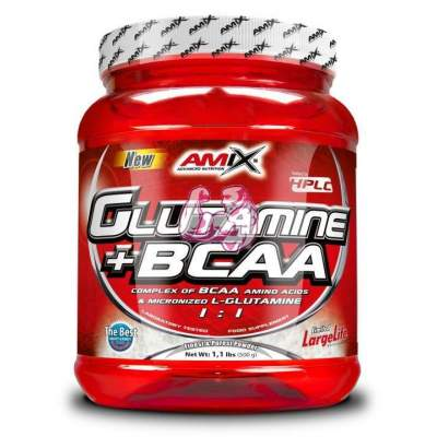 Glutamine + BCAA Powder 500 gr