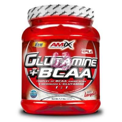 Glutamine + BCAA Powder 500 gr