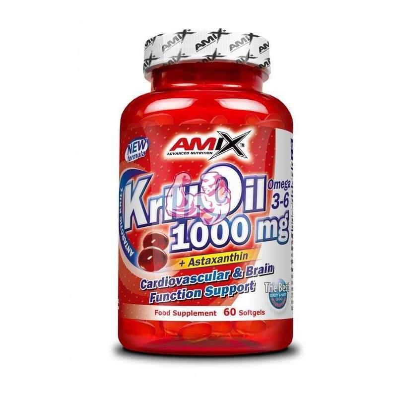 Krill Oil 1000 mg 60 perlas