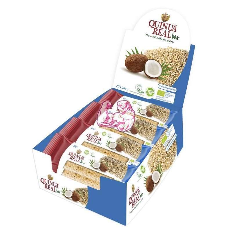 Barritas de Quinoa Real y Coco